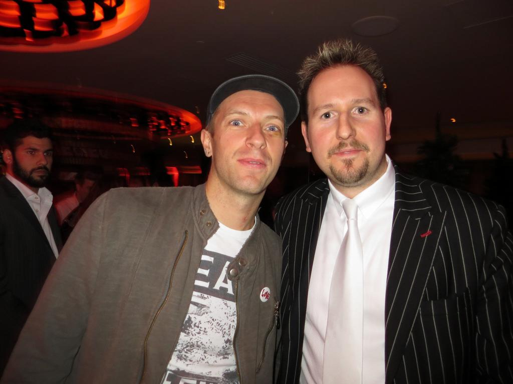 Robert Fox and Chris Martin