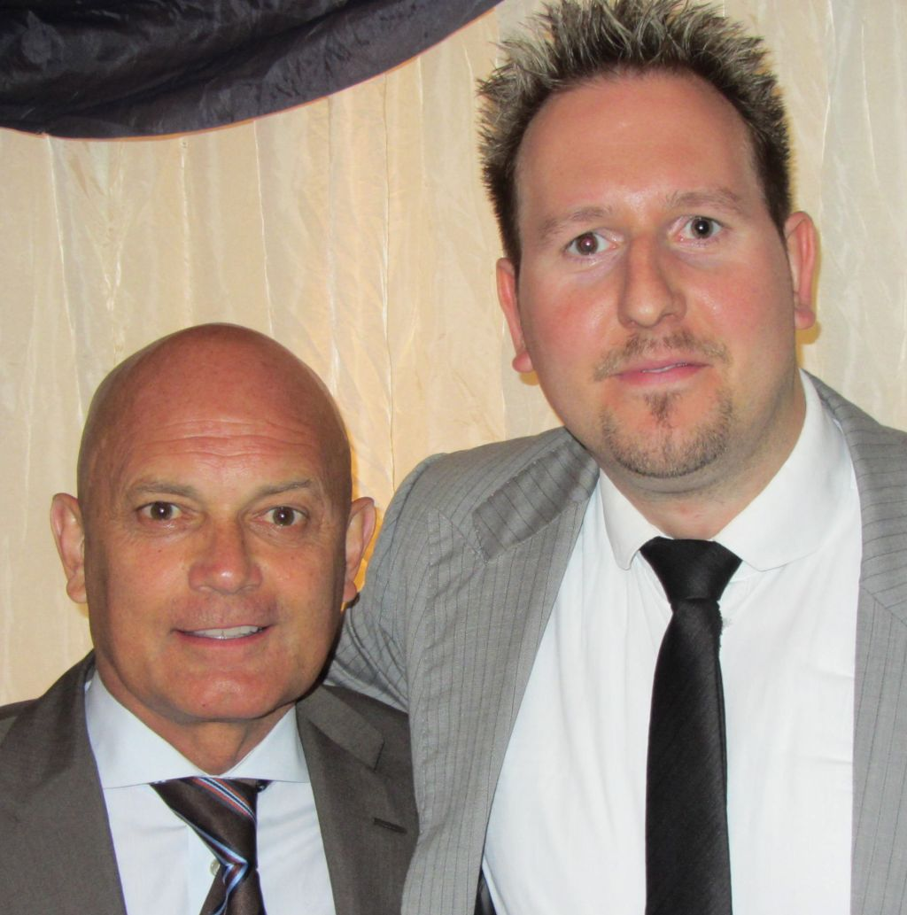 Robert Fox and Ray Wilkins
